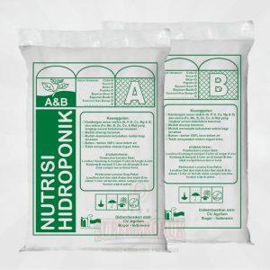 Nutrisi Hidroponik AB Mix Sayur daun 5ltr Pekatan
