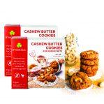Gluten Free Cashew Butter Cookies